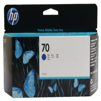 Genuine HP C9458A (#70) Blue Ink Cartridge (HP70BLOEM)