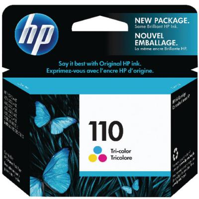 Genuine HP CB304AE (#110) Tri Colour Ink Cartridge (HP110CLROEM)