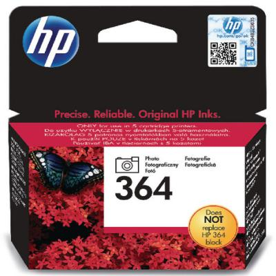 Genuine HP CB317EE (#364) Photo Black Ink Cartridge (HP364PBKOEM)