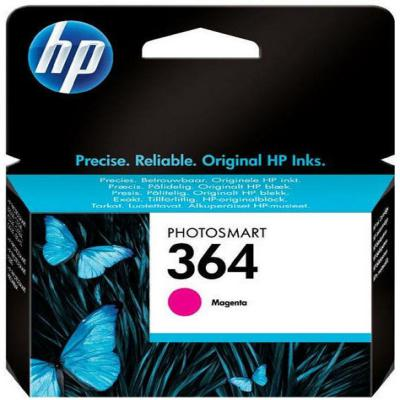 Genuine HP CB319EE (#364) Magenta Ink Cartridge (HP364MOEM)