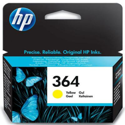 Genuine HP CB320EE (#364) Yellow Ink Cartridge (HP364YOEM)
