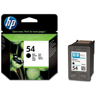 Genuine HP CB334AE (#54) Black Ink Cartridge (HP54BKOEM)