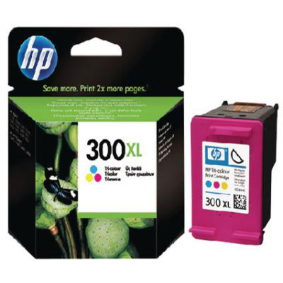 Genuine HP CC644EE (#300H) Tri-Colour High Capacity Ink Cartridge (HP300XLCLRHOEM)