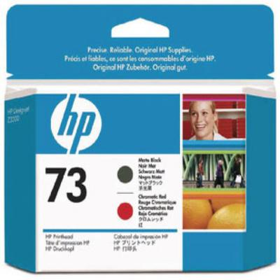 Genuine HP CD949A (#73) Matte Black/Chromatic Red Printhead (HP73PHMBKCROEM)