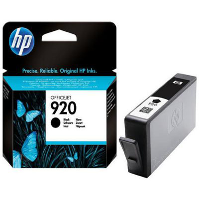 Genuine HP CD971AE (#920) Black Ink Cartridge (HP920BKOEM)