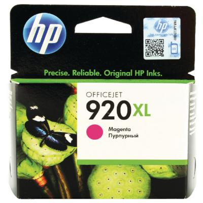 Genuine HP CD973AE (#920H) Magenta High Capacity Ink Cartridge (HP920XLMHOEM)