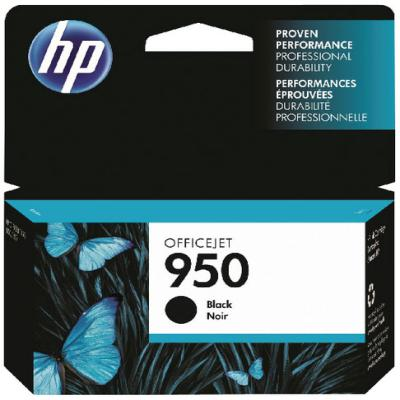 Genuine HP CN049AE (#950) Black Ink Cartridge (HP950BKOEM)
