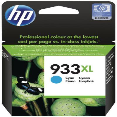 Genuine HP CN054AE (#933H) Cyan High Capacity Ink Cartridge (HP933XLCHOEM)