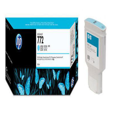 Genuine HP CN632A (#772) Light Cyan Ink Cartridge (HP772LCOEM)