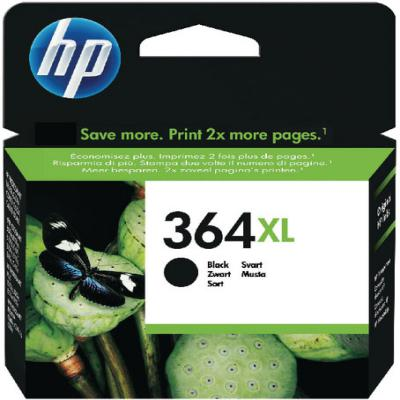 Genuine HP CN684EE (#364H) Black High Capacity Ink Cartridge (HP364XLBKHOEM)