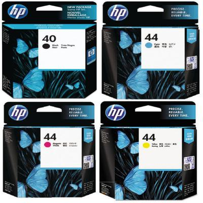 Genuine HP (#40) Black HP (#44) C/M/Y Multi Pack Ink Cartridge (HP40BKHP44CMYMULTIOEM)