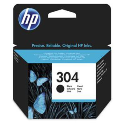 Genuine HP N9K06AE (#304) Black Ink Cartridge (HP304BKOEM)