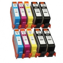 Compatible HP 364XL Value Bundle - 10 Inks