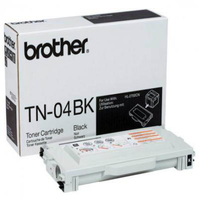 Genuine Brother TN-04BK Black Toner Cartridge (TN04BKOEM)
