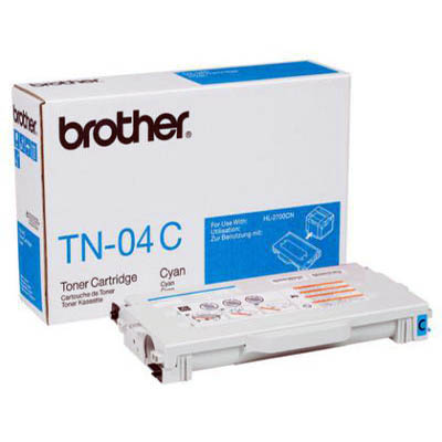 Genuine Brother TN-04C Cyan Toner Cartridge (TN04MOEM)