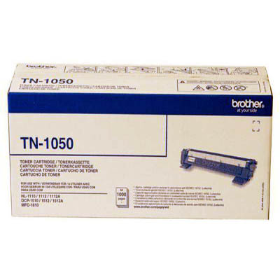 Genuine Brother TN-1050 Black Toner Cartridge (TN1050BKOEM)