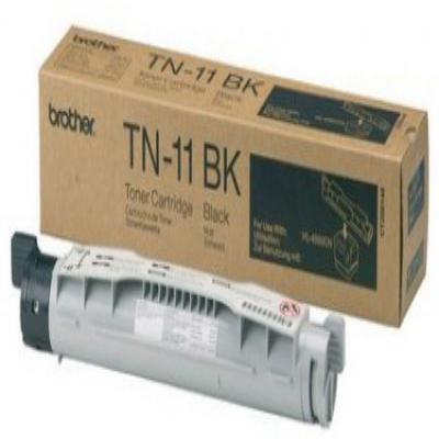 Genuine Brother TN-11BK Black Toner Cartridge (TN11BKOEM)