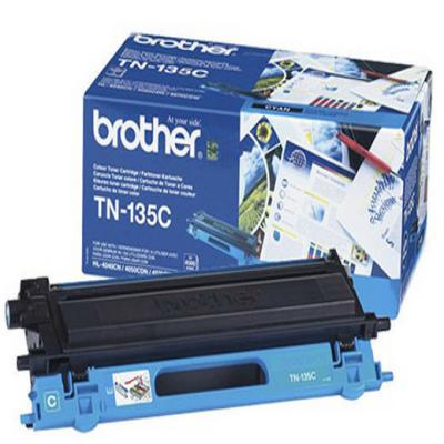 Genuine Brother TN-135C Cyan High Capacity Toner Cartridge (TN135COEM)