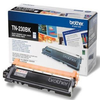 Genuine Brother TN-230BK Black Toner Cartridge (TN230BKOEM)