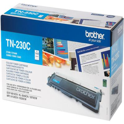 Genuine Brother TN-230C Cyan Toner Cartridge (TN230COEM)