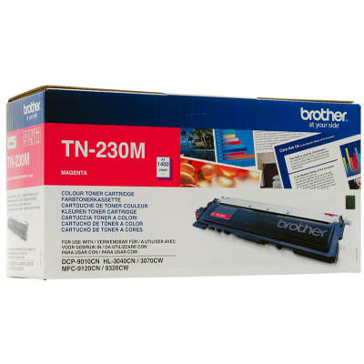 Genuine Brother TN-230M Magenta Toner Cartridge (TN230MOEM)