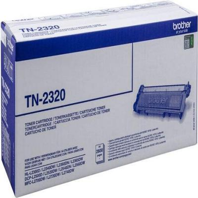 Genuine Brother TN-2320 Black Toner Cartridge (TN2320BKOEM)