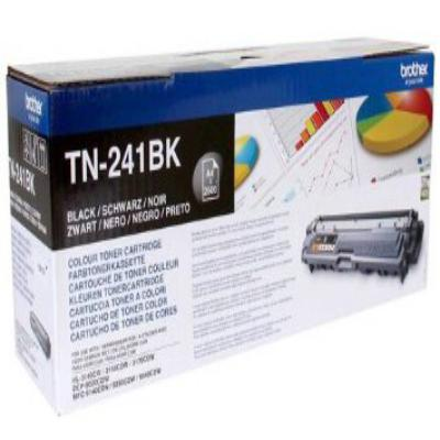 Genuine Brother TN-241BK Black Toner Cartridge (TN241BKBKOEM)
