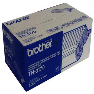 Genuine Brother TN-3170 Black High Capacity Toner Cartridge (TN3170BKOEM)