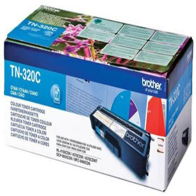 Genuine Brother TN-320C Cyan Toner Cartridge (TN320COEM)
