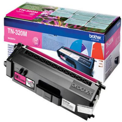 Genuine Brother TN-320M Magenta Toner Cartridge (TN320MOEM)