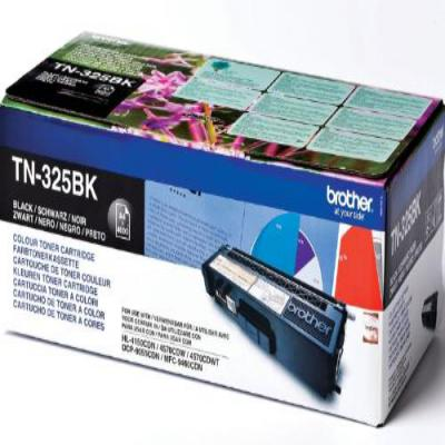 Genuine Brother TN-325BK Black High Capacity Toner Cartridge (TN325BKOEM)