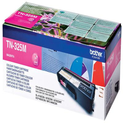 Genuine Brother TN-325M Magenta High Capacity Toner Cartridge (TN325MOEM)