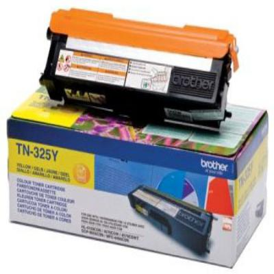 Genuine Brother TN-325Y Yellow High Capacity Toner Cartridge (TN325YOEM)