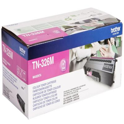 Genuine Brother TN-326M Magenta High Capacity Toner Cartridge (TN326MOEM)