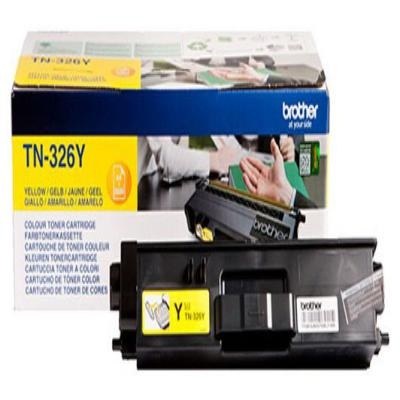 Genuine Brother TN-326Y Yellow High Capacity Toner Cartridge (TN326YOEM)