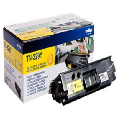 Genuine Brother TN-329Y Yellow High Capacity Toner Cartridge (TN329YOEM)