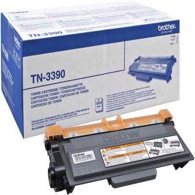 Genuine Brother TN-3390 Black Extra High Capacity Toner Cartridge (TN3390BKOEM)