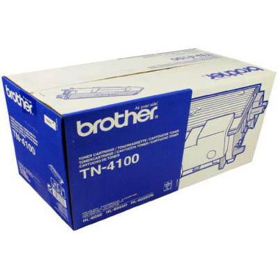 Genuine Brother TN-4100 Black Toner Cartridge (TN4100OEM)