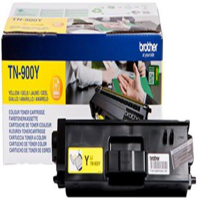 Genuine Brother TN-900Y Yellow Toner Cartridge (TN900YOEM)