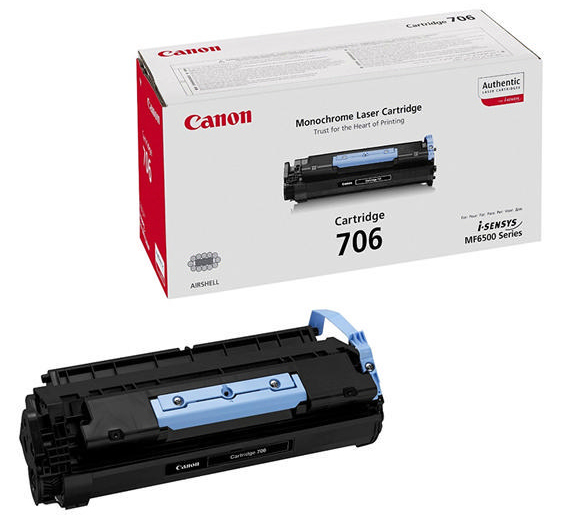 Genuine Canon 706 Black Toner Cartridge (706BKOEM)