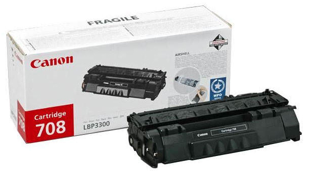Genuine Canon CRG-708 Black Toner Cartridge (CRG708BKOEM)