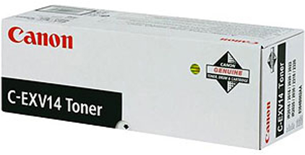 Genuine Canon C-EXV14 Black Toner Cartridge (CEXV14BKOEM)