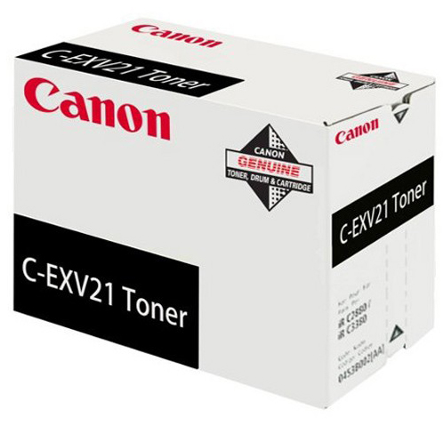 Genuine Canon C-EXV21 Black Toner Cartridge (0452B002AA)