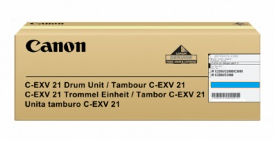 Genuine Canon C-EXV21C Cyan Drum Unit (0457B002BA)