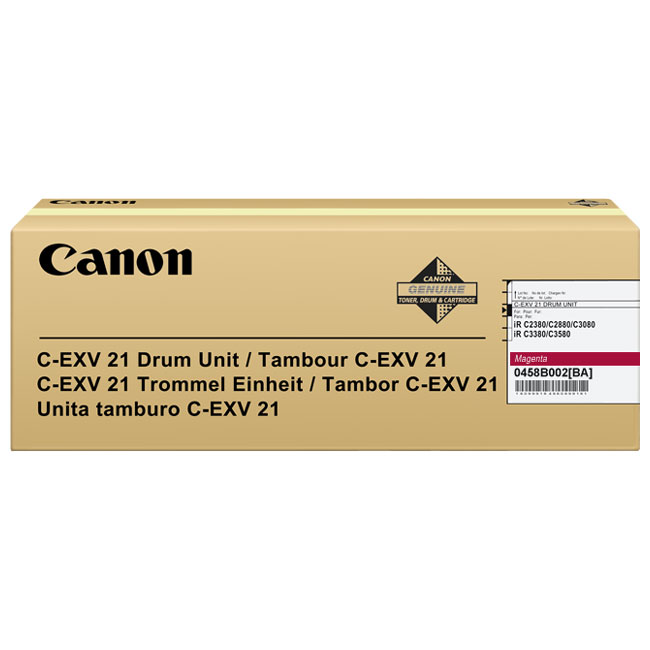 Genuine Canon C-EXV21M Magenta Drum Unit (0458B002BA)