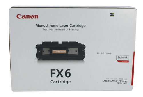 Genuine Canon FX6 Black Toner Cartridge (FX6BKOEM)