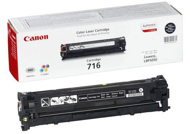 Genuine Canon 716BK Black Toner Cartridge (716BKOEM)