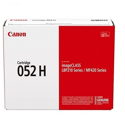 Genuine Canon 052H Black High Capacity Toner Cartridge (052HOEM)