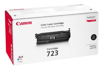 Genuine Canon 723 Black Toner Cartridge (2644B002AA)