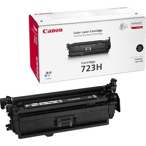 Genuine Canon 723 Black High Capacity Toner Cartridge (723BKHOEM)